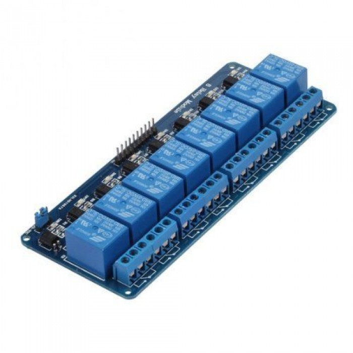 8 Channel 5V Relay Shield Module Board Optocoupler module