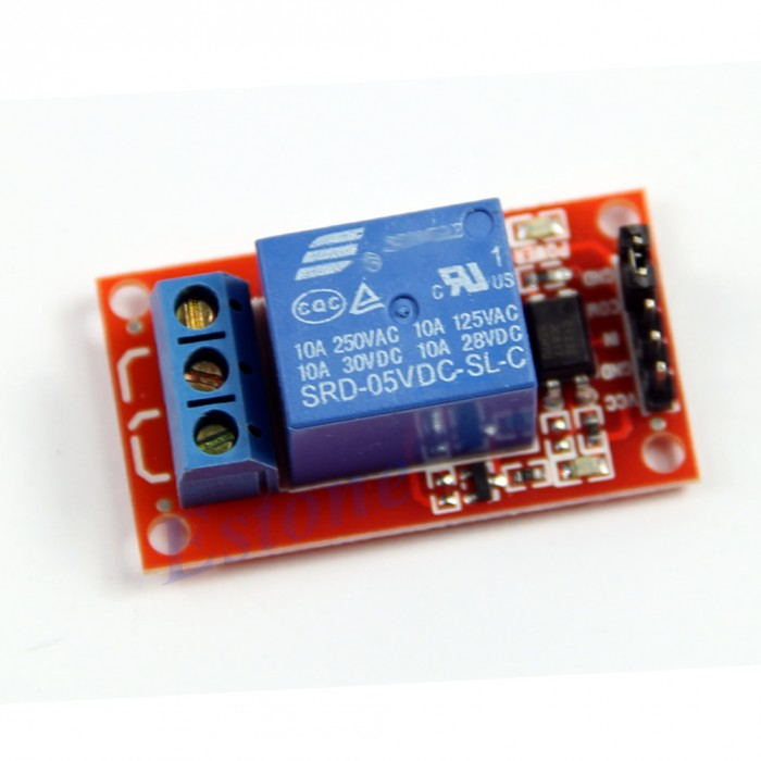 Relay 1-Channel H/L Level Trigger Optocoupler Relay Module 5V