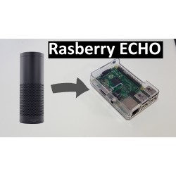 Raspberry Pi running Amazon Echo Alexa software with voice activation