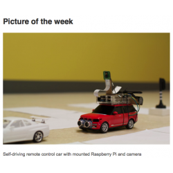 Self driving car with the Raspberry Pi