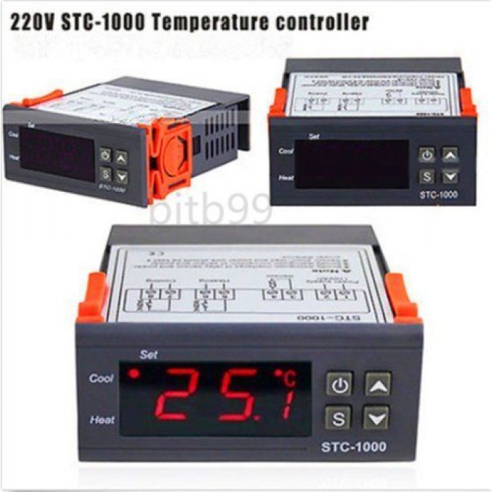 Digital STC-1000 Temperature Controller