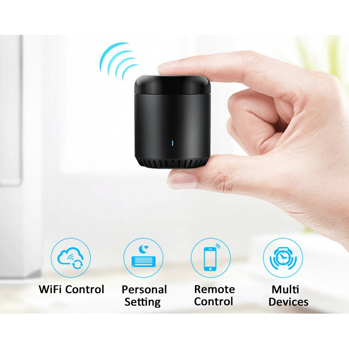 Universal WIFI / IR Remote Controller  -  BLACK