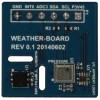Weatherboard 2 Shield for Temp, Humidity and Light