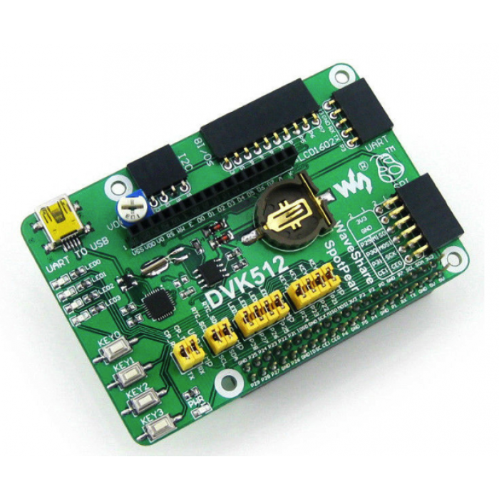 DVK512 Raspberry Pi RPI Rev 3.0 Expansion Development Board