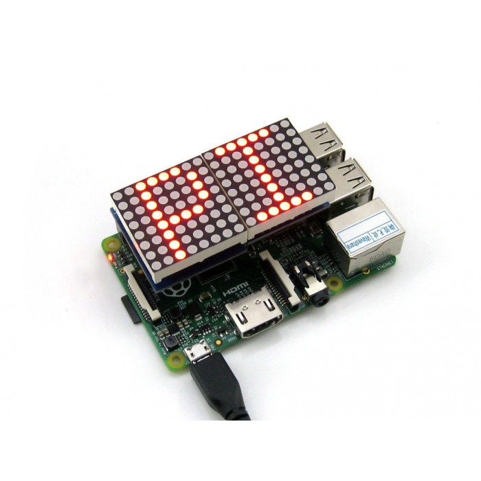 LED Matrix Designed for Raspberry Pi