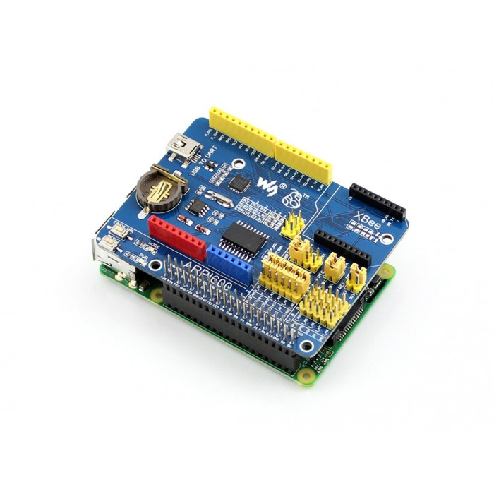 Expansion Board, Supports Raspberry Pi.  Arduino,  XBee ARPi600