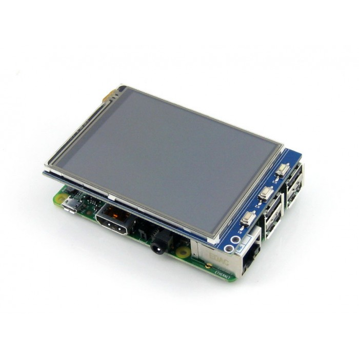 "3.2"" Inch TFT LCD Touch Screen Display Monitor Module For Raspberry Pi"