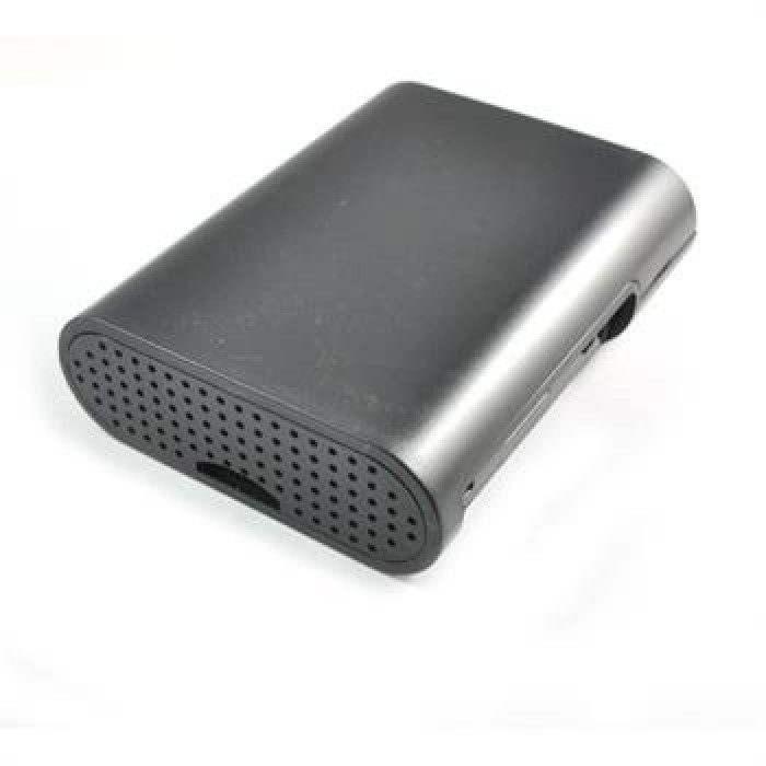Case Raspberry Pi Cover Shell 2 piece BLACK ABS  with Fastening Screws