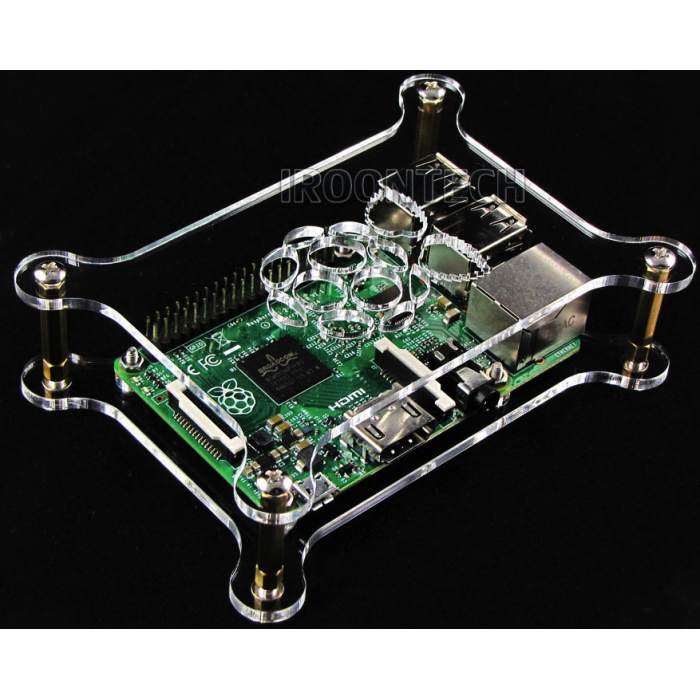 Transparent Acrylic Case Cover Shell Enclosure Box for Raspberry PI