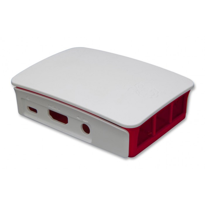 Case Raspberry PI 3 & 2 B+ Offical Enclosure Red & White