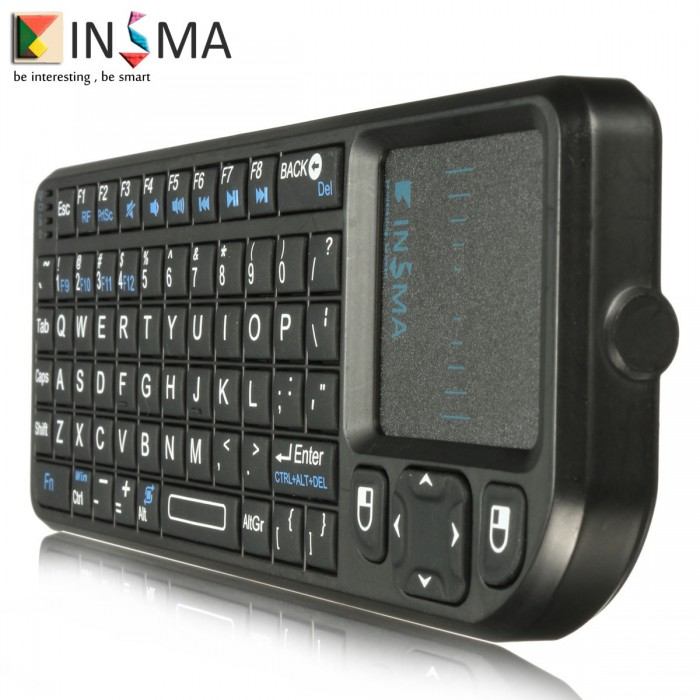 Mini 2.4G Wireless Keyboard W/ Touchpad