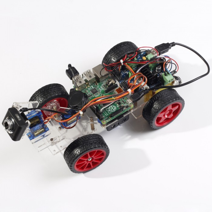 Motor Robot Car with steaming Video for Raspberry Pi