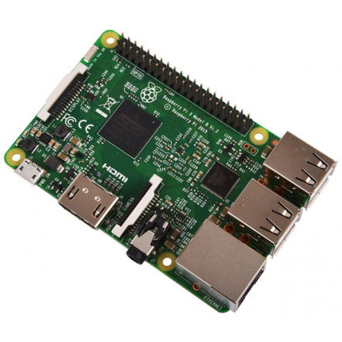 Raspberry PI Board - 3 Model B 1Gb Ram, 1200 Mhz Quad Core