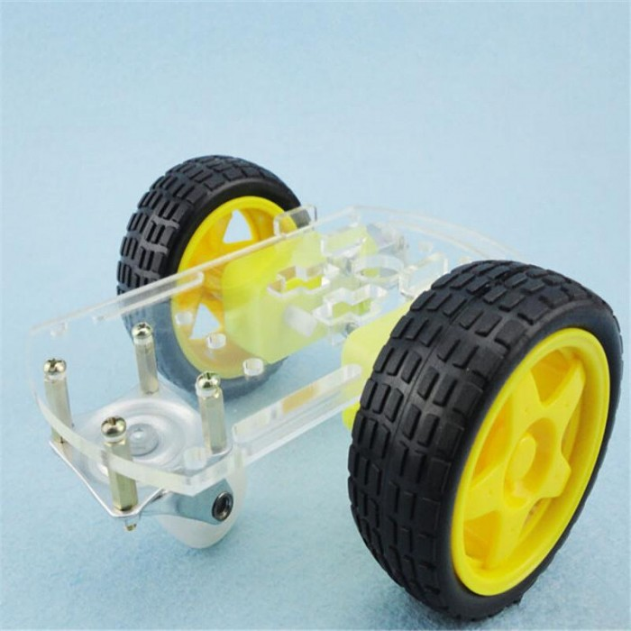 Motor Smart Robot Car Chassis with Tracing car box