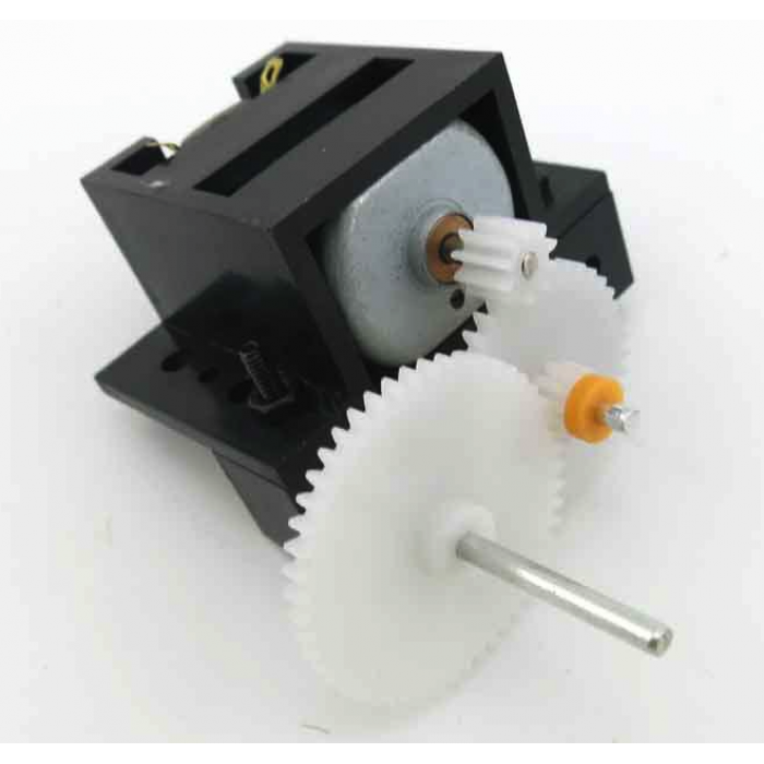 C1A reduction gear box technology with 3-6V motor