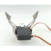 Robot gripper arm mini claw with Servo SNM-100 Metal Aluminum alloy Manipulator