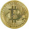 Gold Plated 1oz Bitcoin Coin Collectible Gift BTC Coin Art Collection