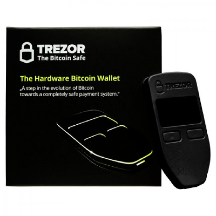 TREZOR Cryptocurrency Hardware Bitcoin Wallet
