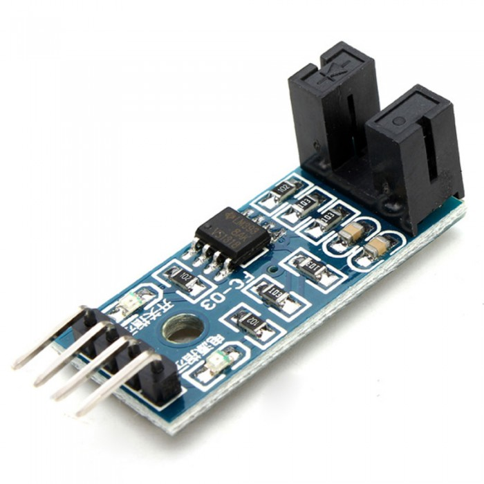 Infrared Slotted Optical Speed Measuring Sensor Optocoupler Module