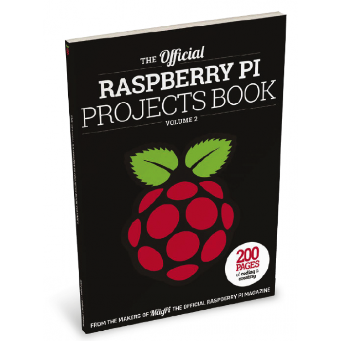 Free eBook - Raspi Projects V2