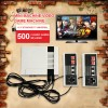 Video Game Console Entertainment System with 500 builtin games