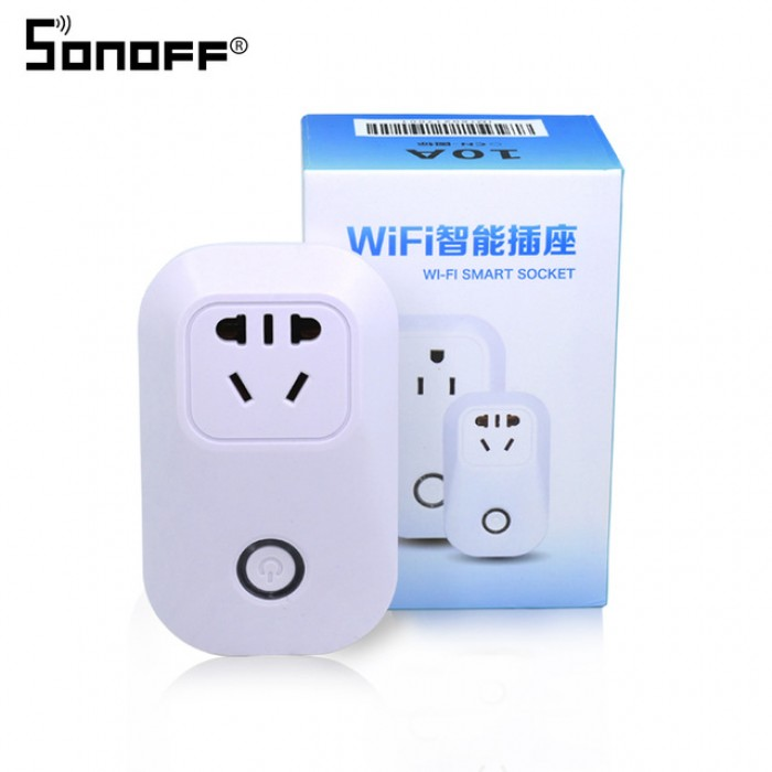 SONOFF S20 10A 2200W Wifi Wireless Remote Control Socket