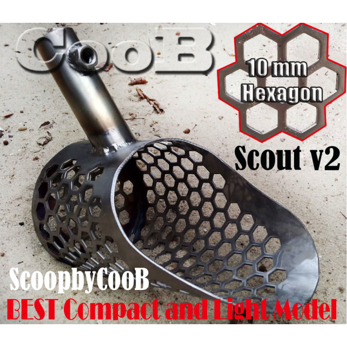 Sand Scoop Small Compact  Scout v2