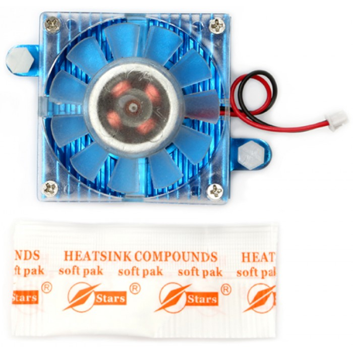 Cooling Fan Blue