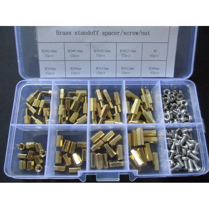 PCB Hex Male Female Thread Brass Spacer Standoffs