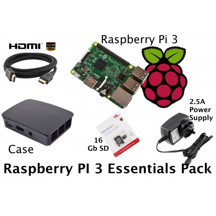 Raspberry Pi - Essentials Pack