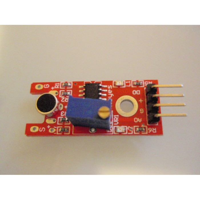 Sensitive microphone sensor module KY-037
