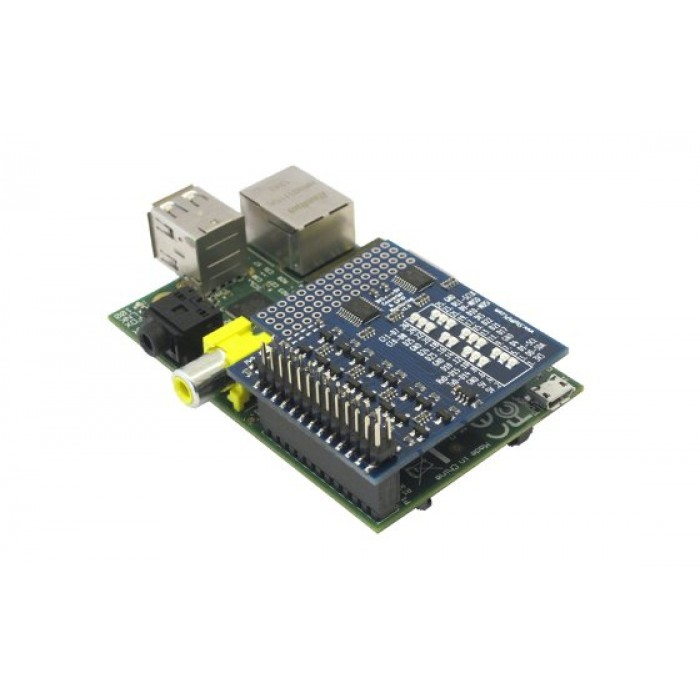 ConvertPi RPi GPIO Full Level Converter & Monitoring for the Raspberry Pi