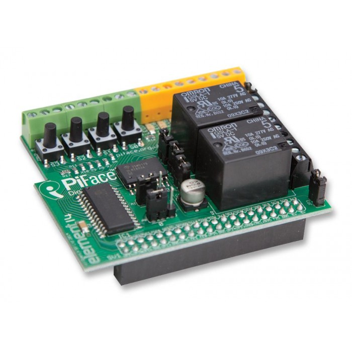 PiFace Digital 2 Board - I/O Expansion for the Raspberry Pi