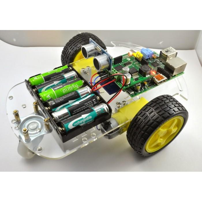 Motor Smart Robot Car Chassis Kit, Speed Encoder, Battery Box